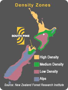 NZ density zones
